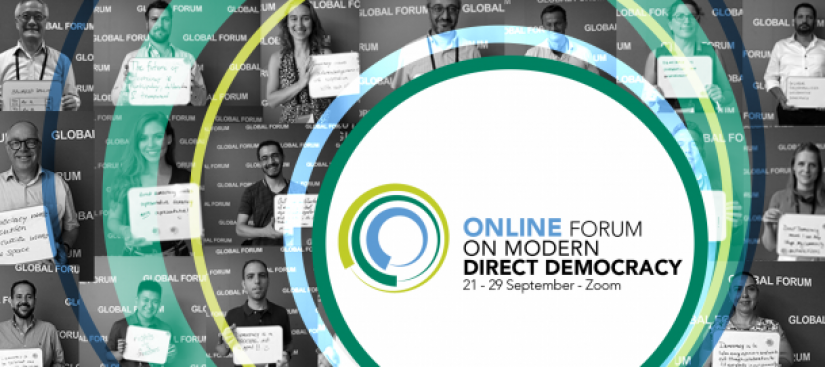 Online Global Forum on Modern Direct Democracy