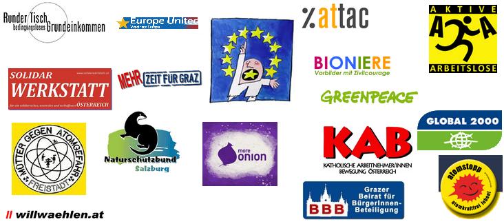 Kampagne: EBI ohne ID - Die Gruppen unterstützen sie.
