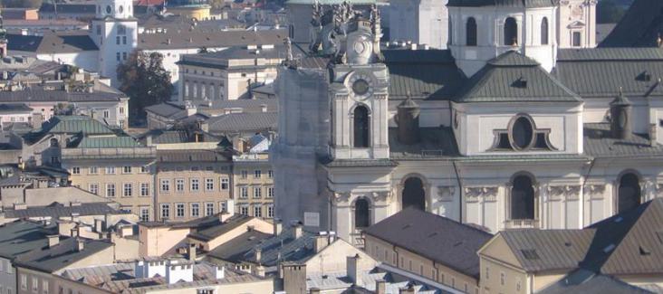Salzburg Stadtansicht