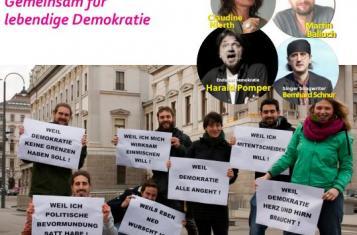 mehr demokratie! Camp 2018 - Infos zum Programm