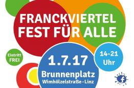 Franckviertel Fest für alle