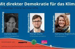Mit Direkter Demokratie fürs Klima